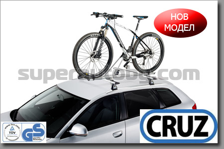 БАГАЖНИК ЗА ВЕЛОСИПЕД CRUZ BIKE-RACK G