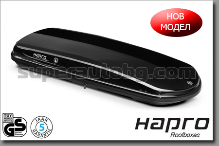 АВТОБОКС HAPRO NORDIC 10.8 BRILLIANT BLACK